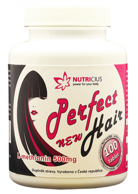 Perfect HAIR New - L-methionin 500mg 100tbl